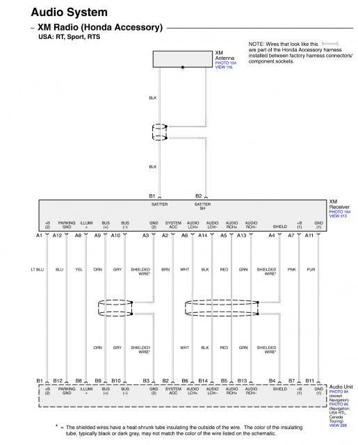 Honda Ridgeline Navigation Wiring Diagram