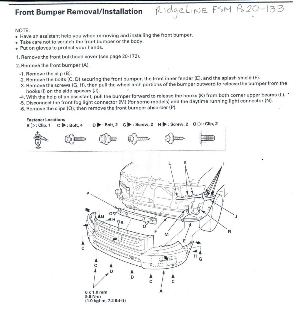 engine block heater install honda ridgeline owners club forums front bumper jpg views 250 size 114 5 kb