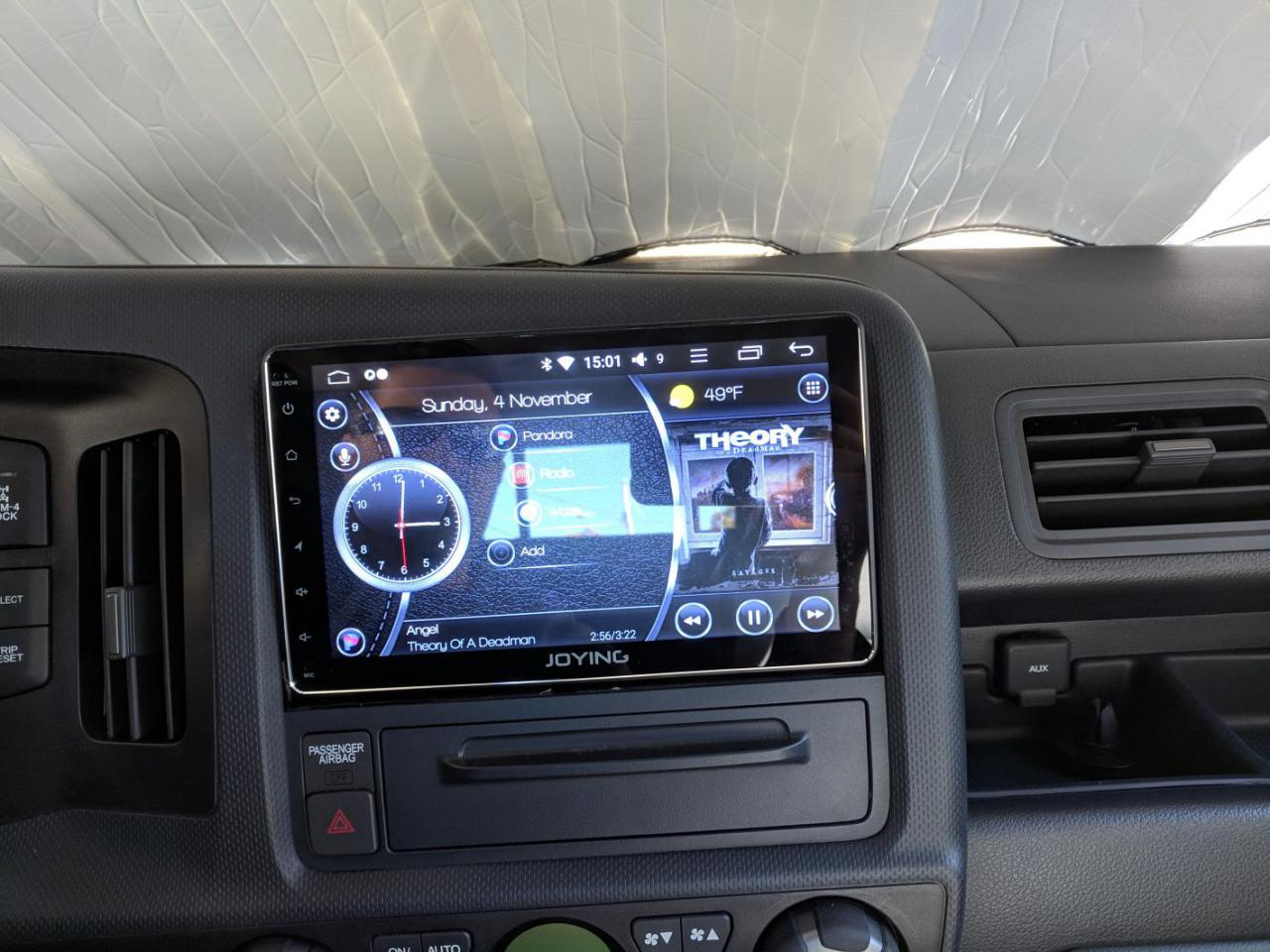 Aftermarket Android head unit   Honda Ridgeline Owners Club Forums