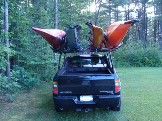 topper mglpc vantech ridgeline racks truck canada ladder sale org post rack honda for related