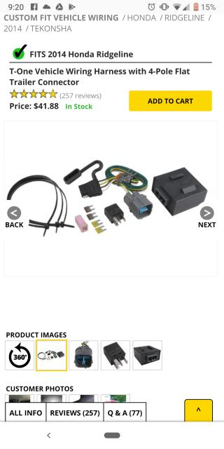 Trailer wiring harness question | Honda Ridgeline Owners ... on honda ridgeline trailer fuse, honda ridgeline trailer connector, honda ridgeline wiring schematics, honda trailer hitch, honda ridgeline cold air intake, honda ridgeline brakes, honda ridgeline custom, honda ridgeline trunk, honda ridgeline hitch and harness, honda ridgeline towing, honda ridgeline parts and accessories, honda ridgeline tires, honda element trailer wiring harness, honda wiring harness connectors, honda trailer harness kit, honda pilot winch, honda ridgeline slide in camper, honda ridgeline topper prices, honda ridgeline hitch installation, honda ridgeline wheels,