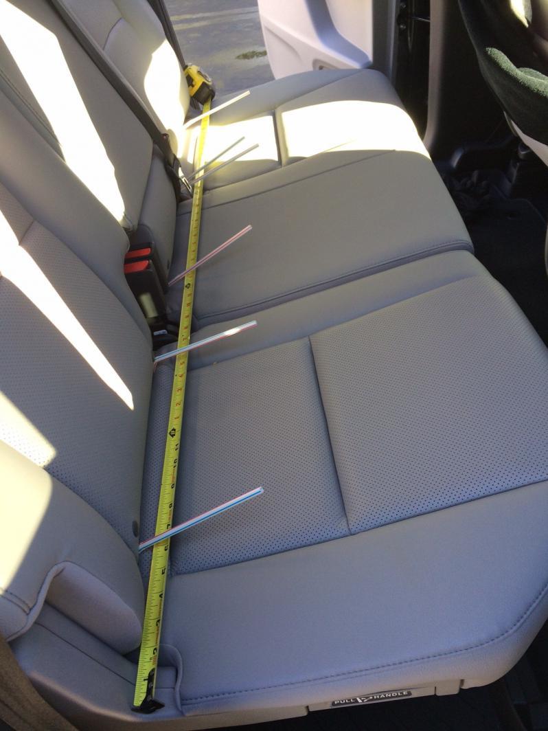 Enjoyable Split Rear Seat Dimensions Honda Ridgeline Owners Club Forums Creativecarmelina Interior Chair Design Creativecarmelinacom