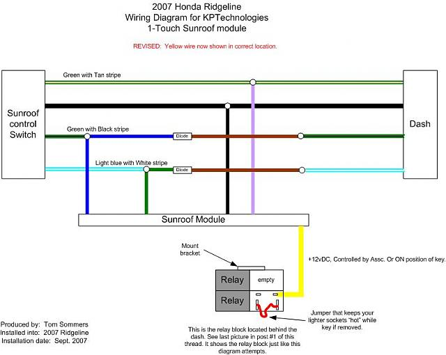 Backlight Wiring Diagram Honda Ridgeline on
