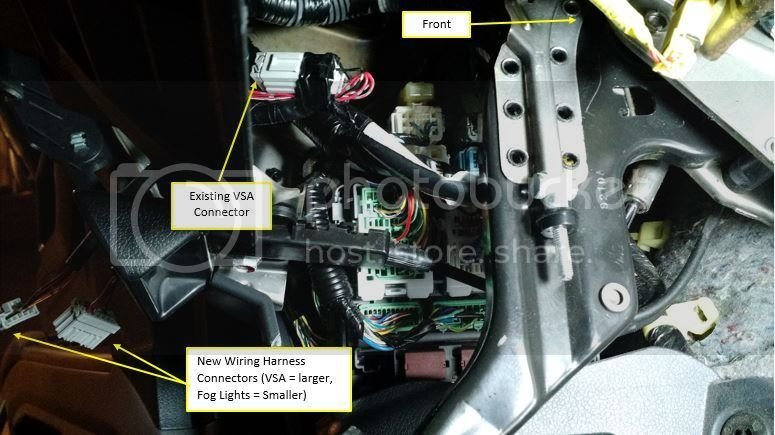 2009+ OEM Fog Light Installation   Honda Ridgeline Owners Club Forums