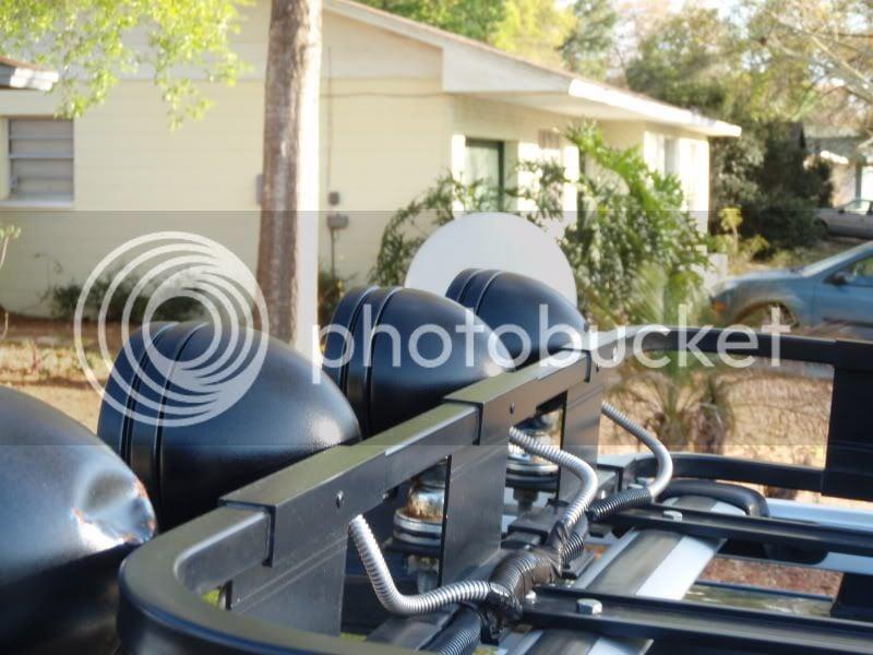 Safari Rack With Off Road Lights Honda Ridgeline Owners