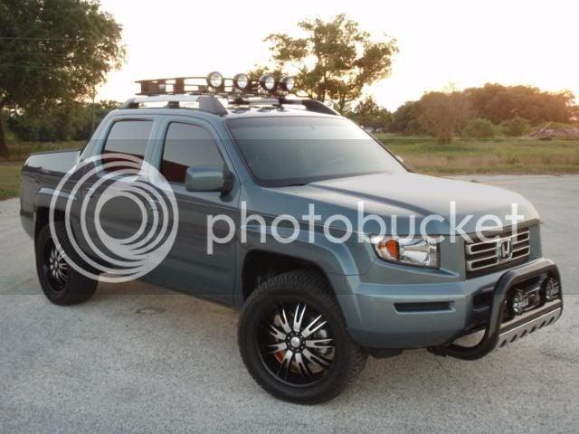 Honda Ridgeline Off Road >> Off Road Tires And Black Wheels Honda Ridgeline Owners