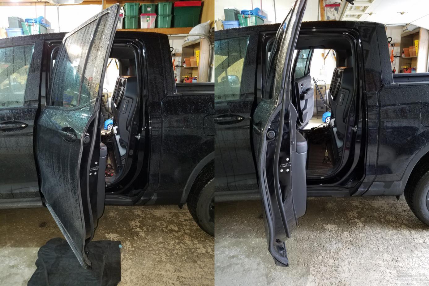 How to install in post #412 (Thanks ValJean9430) & Rear Door Opening Hack - Honda Ridgeline Owners Club Forums